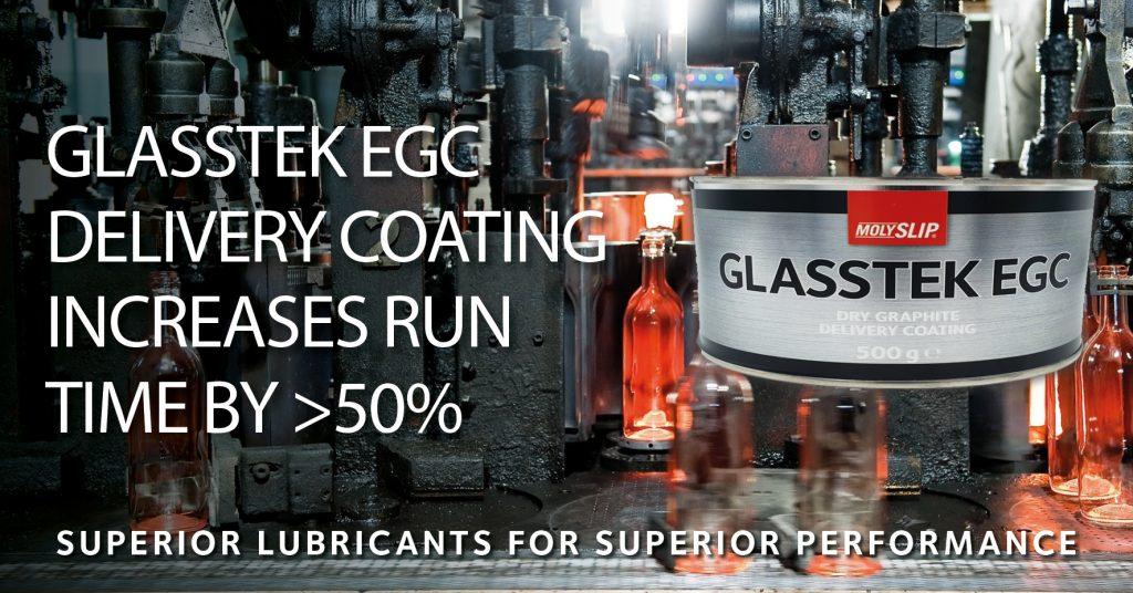 Glasstek EGC IS Machine delivery coating